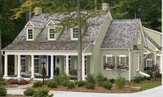exterior paint colors on a farmhouse | Exterior Paint Colors for Cape Cod Homes