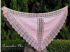 Chal de Crochet Vintage - Patrones Crochet