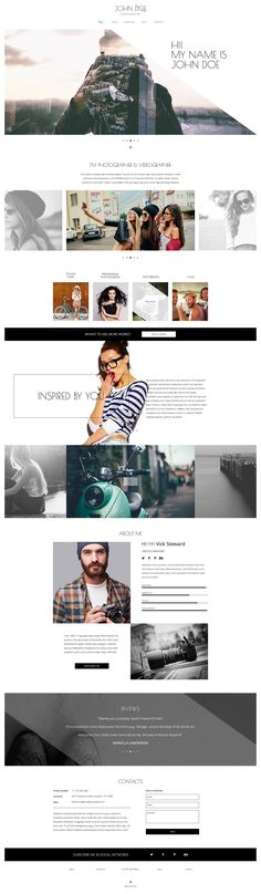 Photography WP Themes #creative #designs
