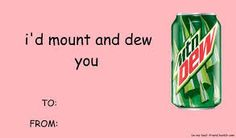 i'd mount and dew you