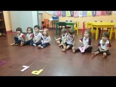 Reconhecendo a letra inicial do seu nome. Maternal II - YouTube Thing 1, Physical Fitness, Toddler Activities, Professor, Classroom, Education, Youtube, Children, Videos