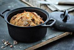 HEDELMÄ-PÄHKINÄ-PATALEIPÄ | Koti ja keittiö Koti, Iron Pan, Drinking, Veggies, Sweets, Bread, Homemade, Baking, Recipes
