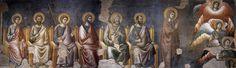 El Juicio Final (detalle) (25), frescos de Pietro Cavallini (1259-1330, Italy). Santa Cecilia in Trastevere