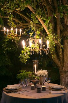 Fairy Tale Forest-esque via Style Me Pretty | Gallery | #9901 | Page #1
