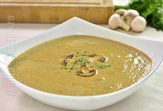 Supa crema de ciuperci – reteta video Soup Recipes, Vegetarian Recipes, Cooking Recipes, Romanian Food, Romanian Recipes, Food Videos, Food Inspiration, Curry, Appetizers