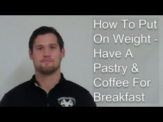 MK Boot Camp - How To Put On Weight - Have A Pastry & Coffee For Breakfast