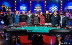 Les 9 finalistes du Main Event des World Series of Poker enfin connus