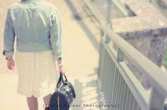 s t e p s . by Stefan.Heider, via Flickr | #warm #cool #tan #brown #blue #aqua