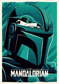 Star Wars Fan Art, Mandalorian Poster, Mandalorian Armor, Star Wars Vector, Star Wars Dark Side, Star Wars Zeichnungen, Cover Art, Cuadros Star Wars, Star Wars Painting