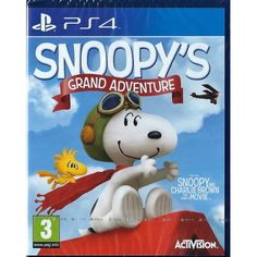 Playstation 4 Snoppy's Grand Adventure (PS4) BRAND NEW