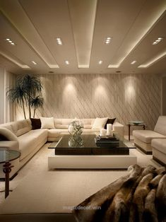Terrific Cozy and classy basement with recessed lighting and lamps to make basement look like it has more light. The post Cozy and classy basement with recessed lighting an ..