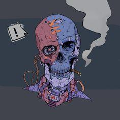 Киберпанк арт | Cyberpunk art