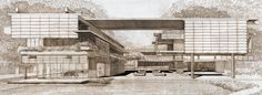 Paul Marvin Rudolph 1990 - The Wee Ee Chao Residence, Singapore. According to the Paul Rudolph Foundation, it was indeed built