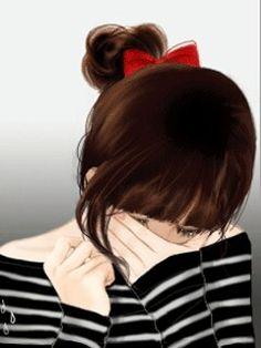 Breaking point #sad #illustration #Girl