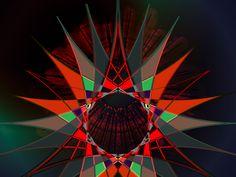 Hologram star by Haystack Engineering #art #illustration  #Geometric