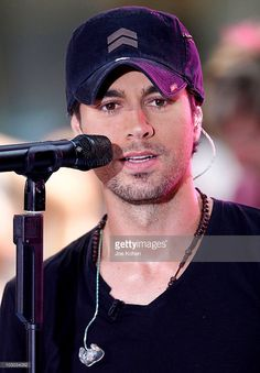 Singer Enrique Iglesias performs on NBC's 'Today' at Rockefeller Center on July 16, 2010 in New York City.