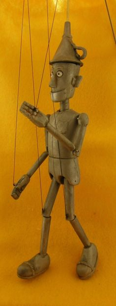 Tin Man marionette limited edition by AMCreatures on Etsy
