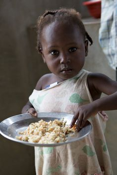 Love this face-Food for Haiti - Kids around the world