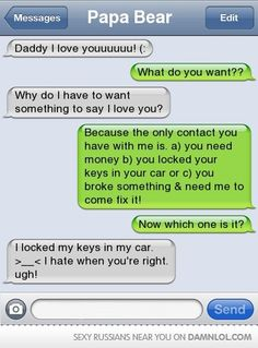 hahahaha...appreciate your parents, darn it!  ;-)