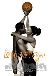 Love & Basketball is a 2000 American romantic drama film starring Omar Epps and Sanaa Lathan. The film tells the story of Quincy McCall and Monica Wright, two next-door neighbors in Los Angeles, California. Love And Basketball Movie, Basketball Movies, Basketball Posters, Basketball Couples, Basketball Girlfriend, Ucla Basketball, Basketball Shoes, Movies And Series, Frases