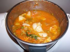Fish Recipes, Thai Red Curry, Cabo, Cooking, Ethnic Recipes, Sweet, Snow Peas, Spices, Food Cakes