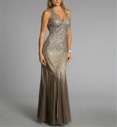 If I had ever been taken to the Marine Ball, it would have been in a dress like this...