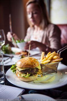 100% organic Burren beef burger in Dublin