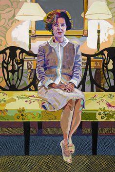 Elizabeth Chapin: The Velvet Glove, 72 x 48