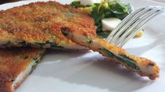 Vecchia Macina - Not Only a Food Blog: Chiken Spinach Schnitzel