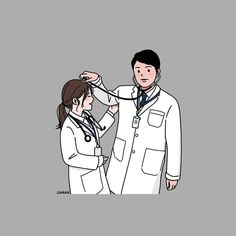Cute Couple Drawings, Cute Couple Art, Cute Drawings, Medical Quotes, Medical Art, Couple Illustration, Medical Illustration, Medical Photography, Medical Wallpaper