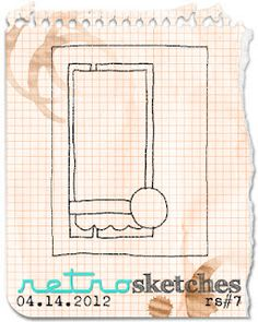 retro sketches : a challenge: retrosketches #7 / winner & shout~outs...