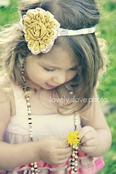 cute DIY flower headband