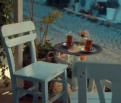 """""""Pale spring became dazzling summer, with a tender, capricious sky and the fading flowers buried in a wash of summer grass. Adventure Aesthetic, Turkish Tea, Chocolate Caliente, Tea Art, Outdoor Furniture Sets, Outdoor Decor, Inspiration Wall, Aesthetic Pictures, Aesthetic Movies"""