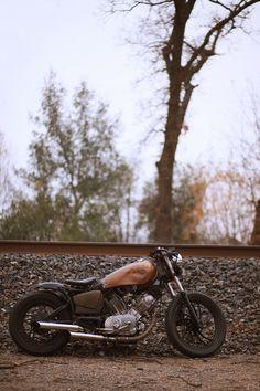 Old xv750 bobber