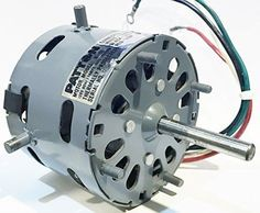 Patton N-12 Motor, OEM Spare for HVAC Products, 120V 60Hz 1.1A, 1140RPM #Patton