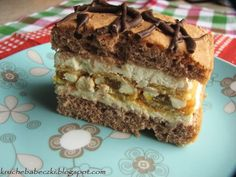 Polish Desserts, Polish Recipes, Baking Tips, Baking Recipes, Cake Recipes, Polish Cake Recipe, Mousse Cake, Food Goals, Pavlova