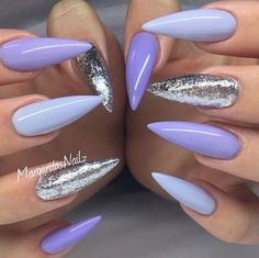 Love the different shades of purple