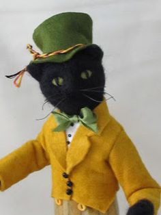 The Paisley Studio, cutest felted guy I've ever seen!