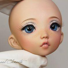 Finished face up Littlefee Mio. Commission for Elizabeth ��...
