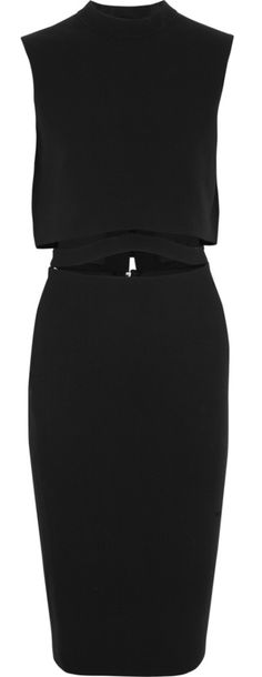 Victoria Beckham LBD:  This brilliant style is soooo perfect for the pear body types.  The wider set bodice balances perfectly with the client who has bigger hips.  Love it.