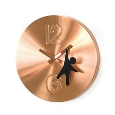 "Currently inspired by: Copper Man Wall Clock 12"" on Fab.com"
