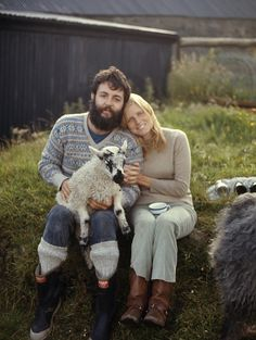 Paul & Linda McCartney in scotland