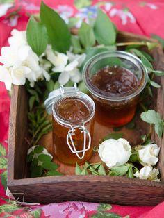 Róża – konfitury z płatków róż. | Klaudyna Hebda