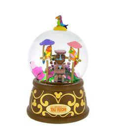Disney Parks Enchanted Tiki Room Musical Snow Globe Adventureland #DisneyWorld #Tikiroom