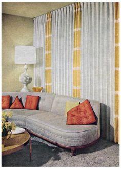 1950s Living Room.