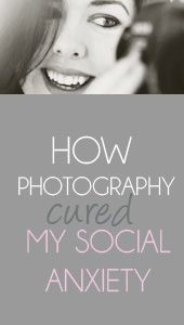 This is the story of a girl named Kelly who has social anxiety. Kelly talks about her everyday struggles and how she has managed to rise above and cope with her disorder through her photography hobby. Read this blog to inspire yourself to think of hobbies you have or may want to pursue that could help you cope with your own anxieties.