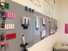 Wall for innovation lab