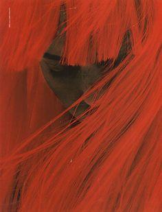 Angela Lindvall by Mert Alas & Marcus Piggott  styled by Katie Grand for Pop Magazine FW 2002
