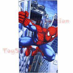NEW Spiderman Hero Beach Bath Swimming Shower Bathroom Cotton Towel