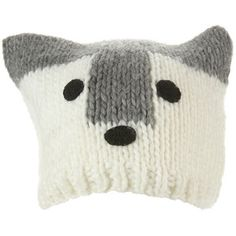 DIY Husky hat! Easy knit perfect for the kids, a friend, or to make your holidays even more fun